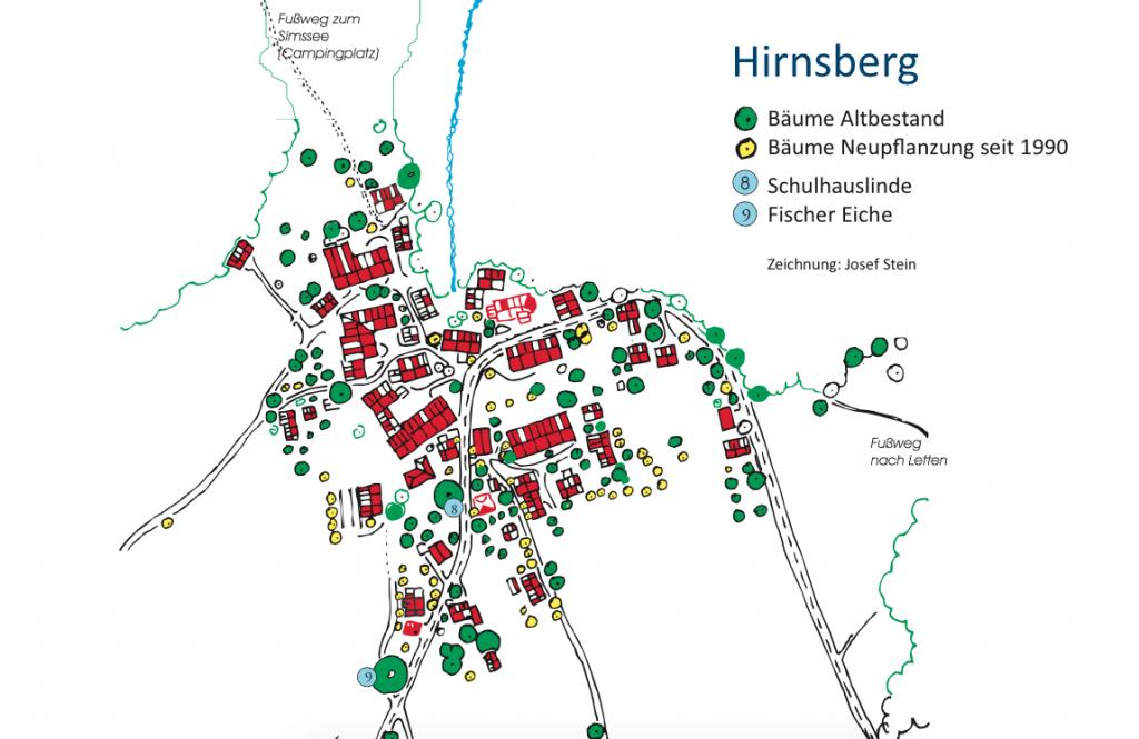 Hirnsberg - Baumbestand