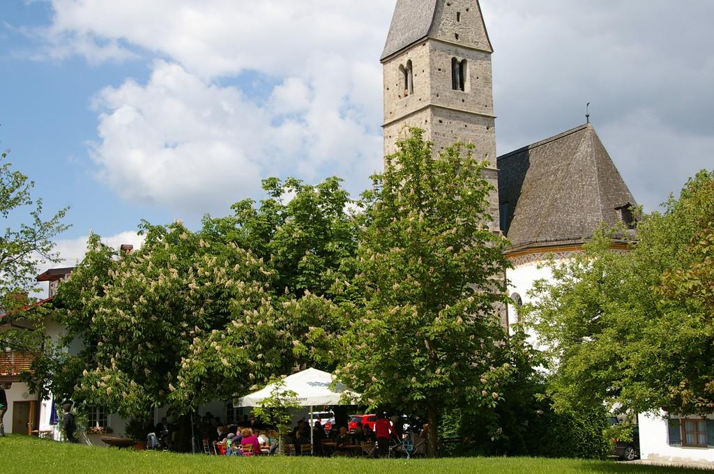 Gasthaus Hilger - Biergarten in Hirnsberg